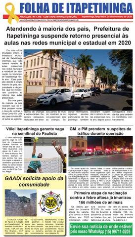 Folha de Itapetininga 29/09/2020 (Terca-feira)