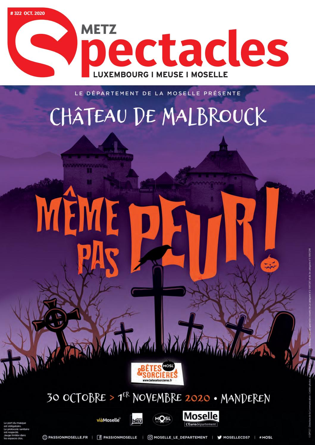 Spectacles Publications Metz N 322 Octobre 2020 By Spectacles Publications Issuu