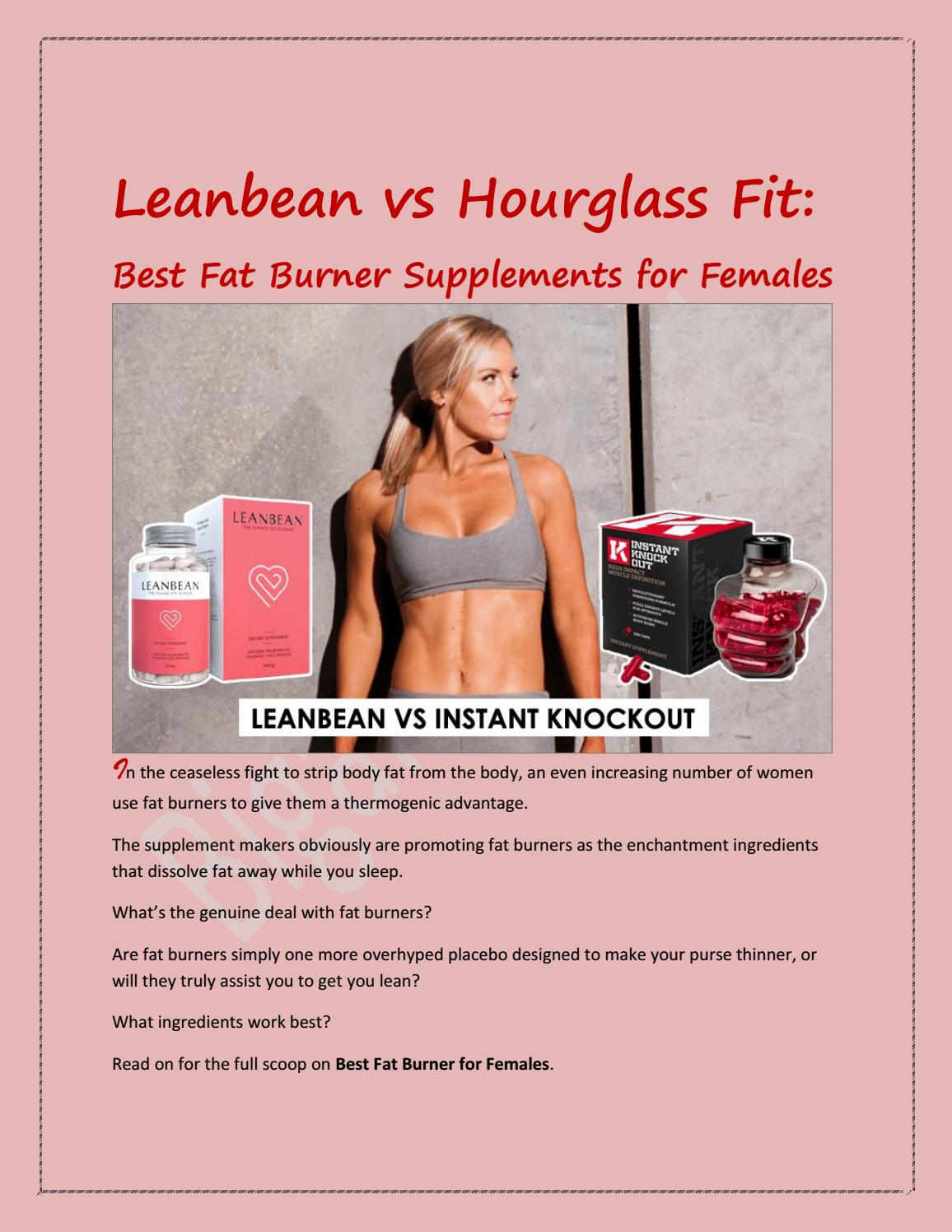 Best Fat Burner for Females That Actually Work to Shred Fat