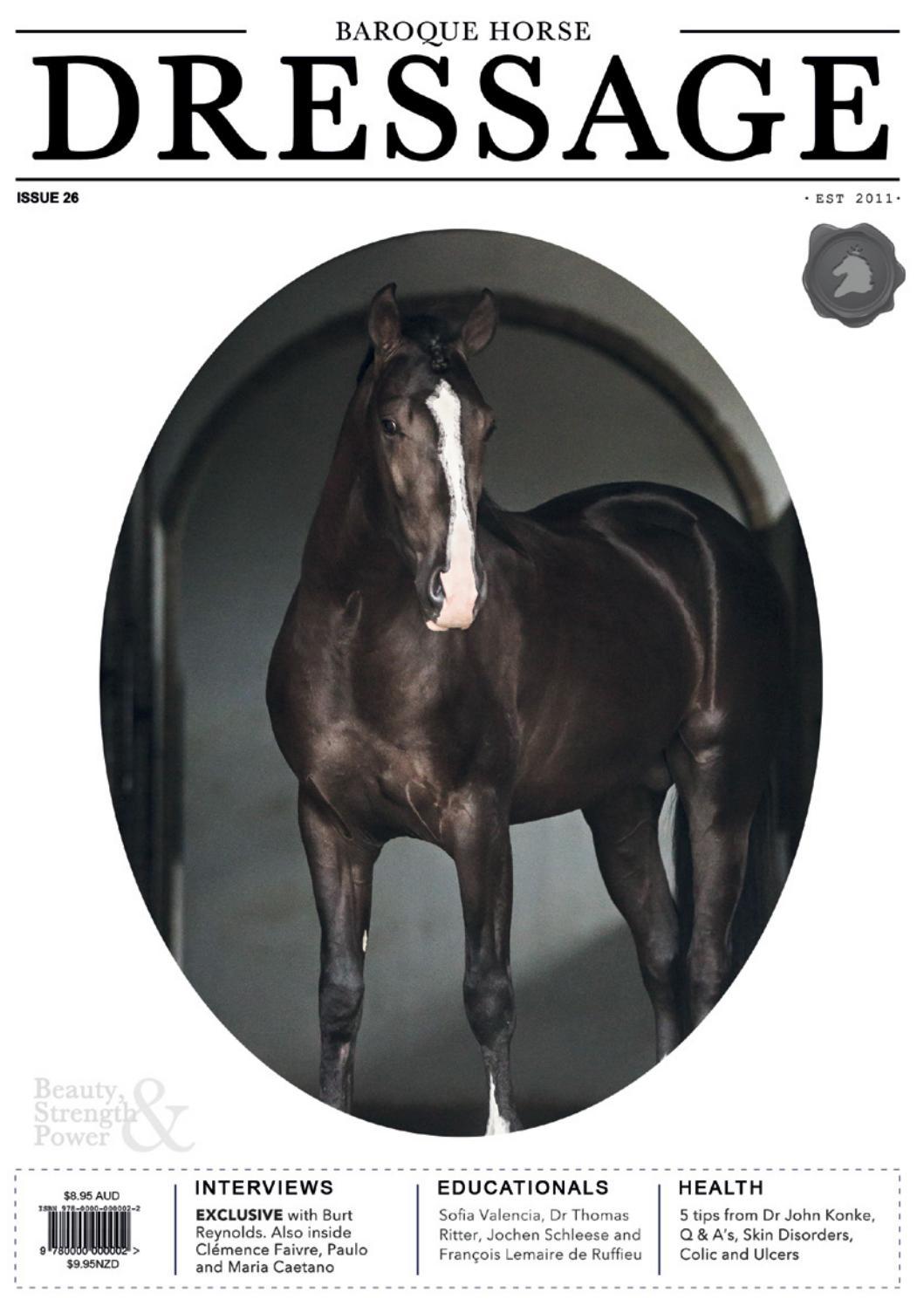 Baroque Horse DRESSAGE Issue 27   Horse dressage, Dressage