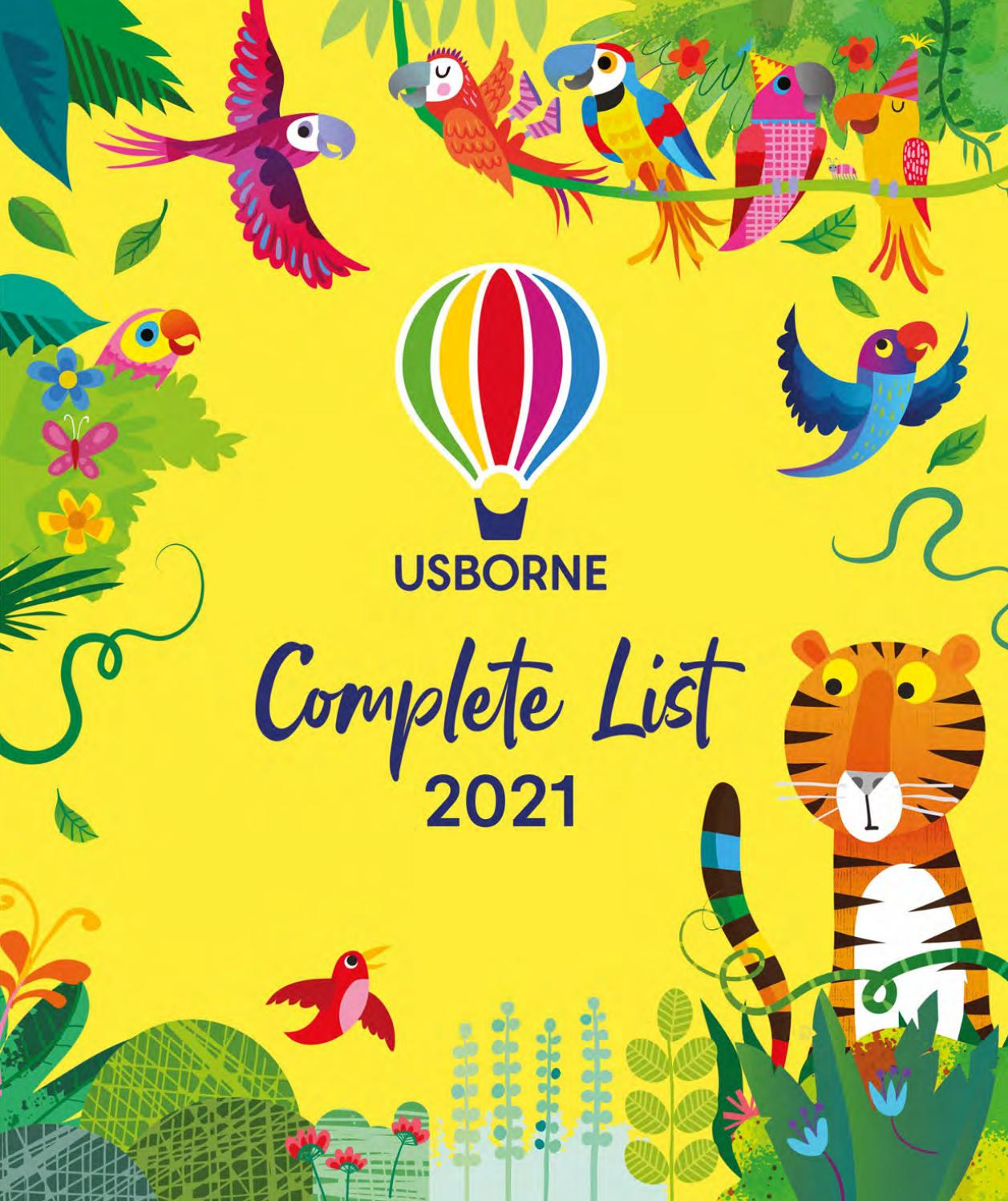 Usborne Complete List 2021 By Usborne Issuu