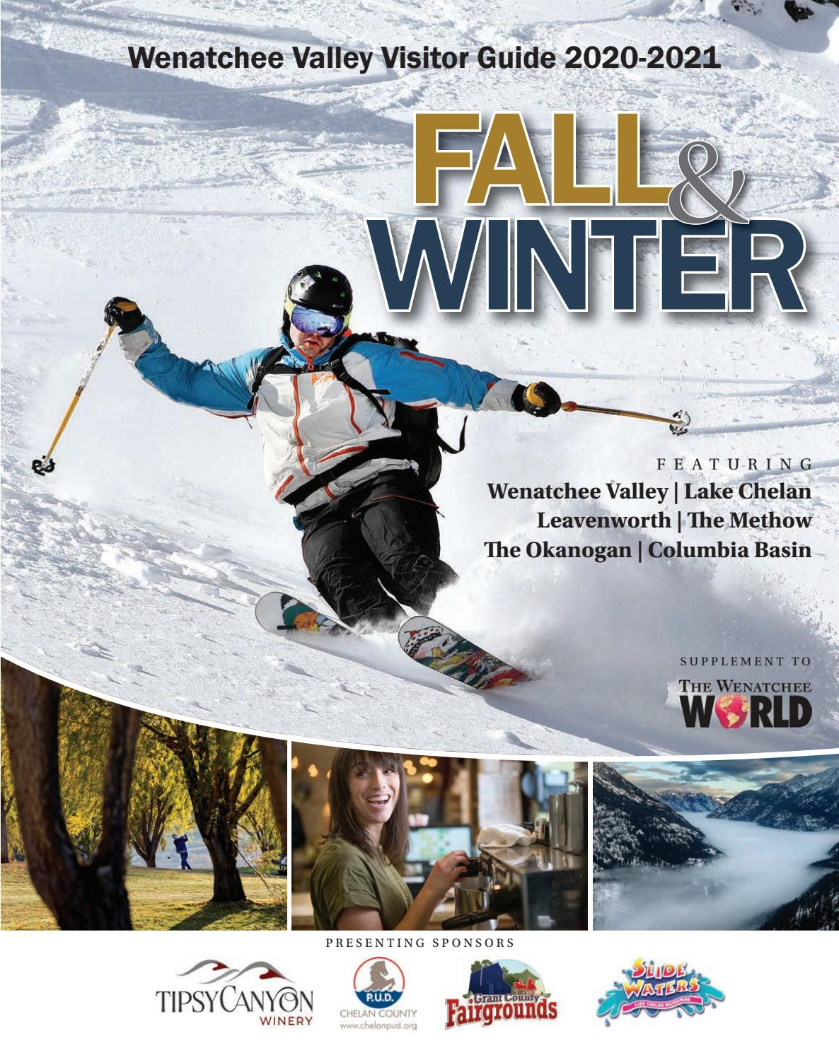 Odds That Lake Chelan Wa. Has Snow For Christmas 2020 Wenatchee Valley Visitor Guide 2020 2021. Fall & Winter. by The