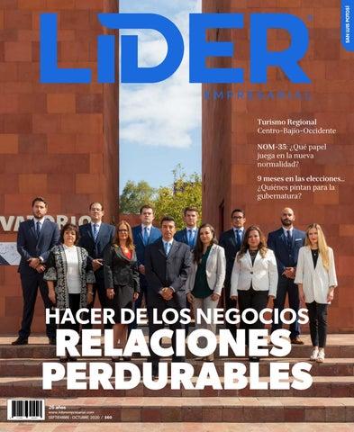 Revista Líder Empresarial San Luis Potosí No. 1