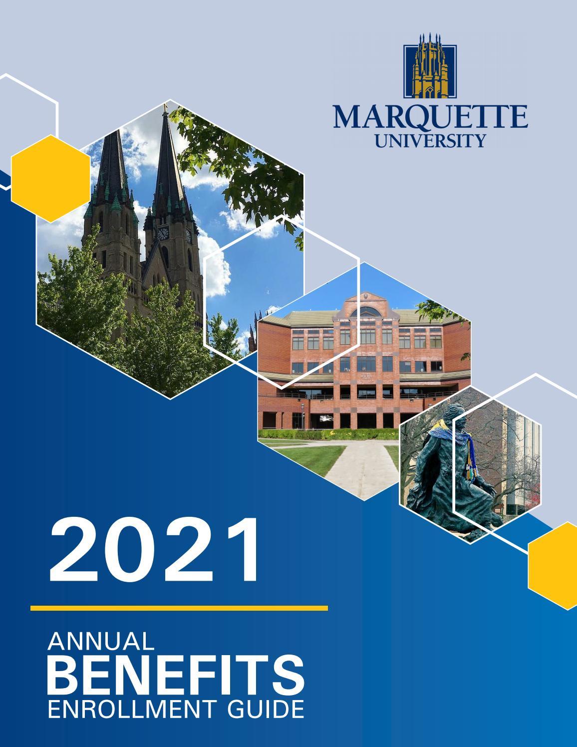 Marquette Academic Calendar 2022.2021 Marquette Open Enrollment Guide By Marquette University Issuu