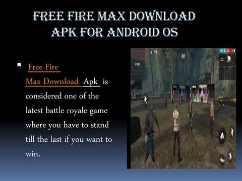 Free Fire Max Download Apk By Sharetok Issuu