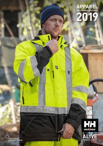 Helly Hansen Mens Lifa Active Hi Vis Workwear T Shirt