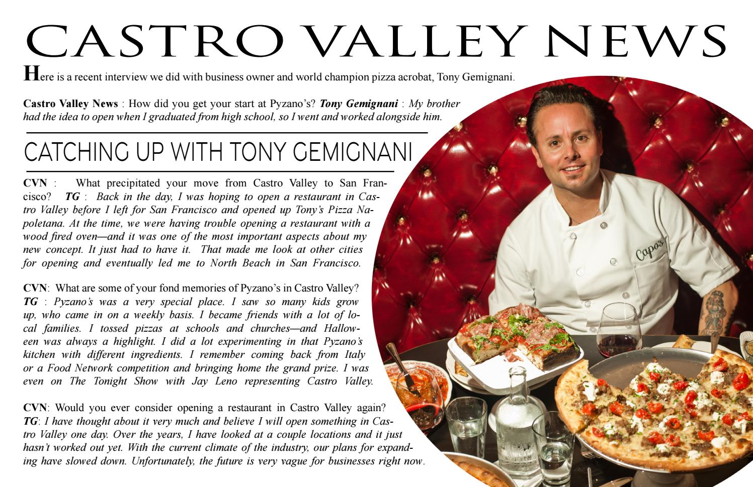 Castro Valley News Year 5 Number 3 V 38 By Castro Valley News Issuu