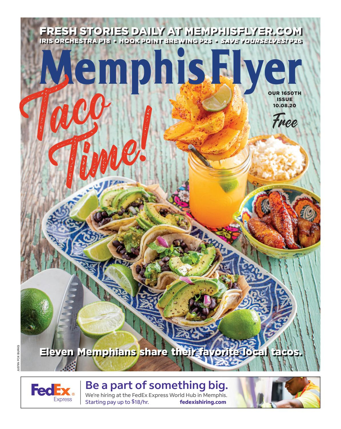 Memphis Flyer 10 8 2020 By Contemporary Media Issuu