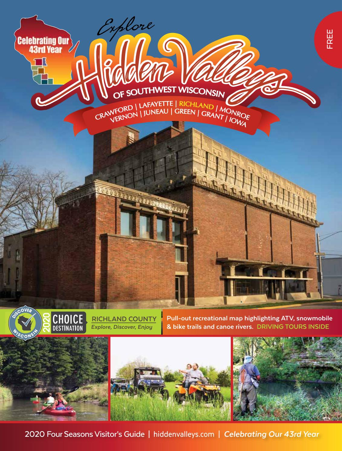 Hidden Valleys Of Southwest Wisconsin By Nicoles Ads Issuu