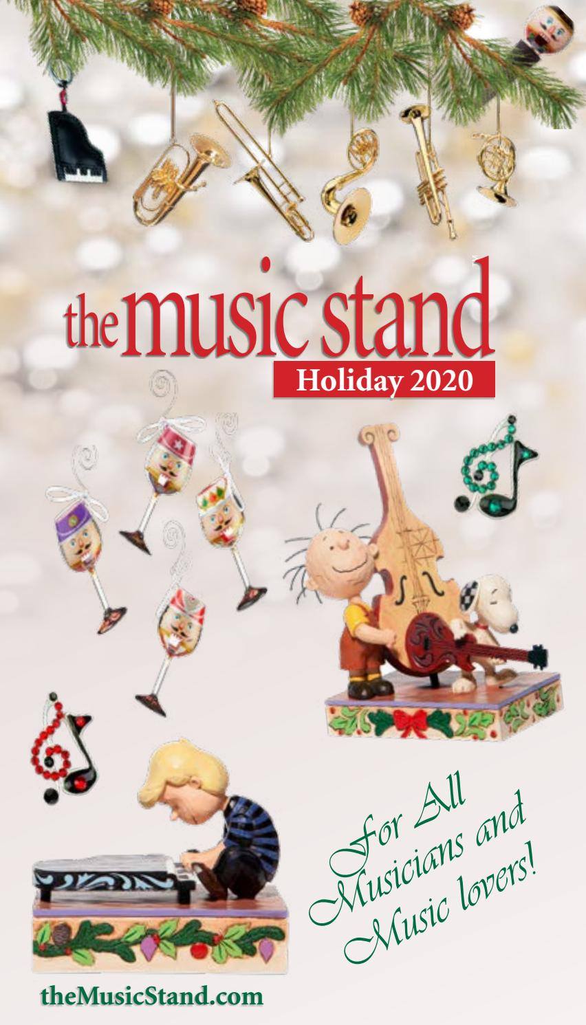 The Music Stand Holiday 2020 Catalog By Themusicstand Com Issuu