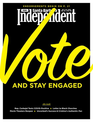 Santa Barbara Independent 10 8 20 By Sb Independent Issuu