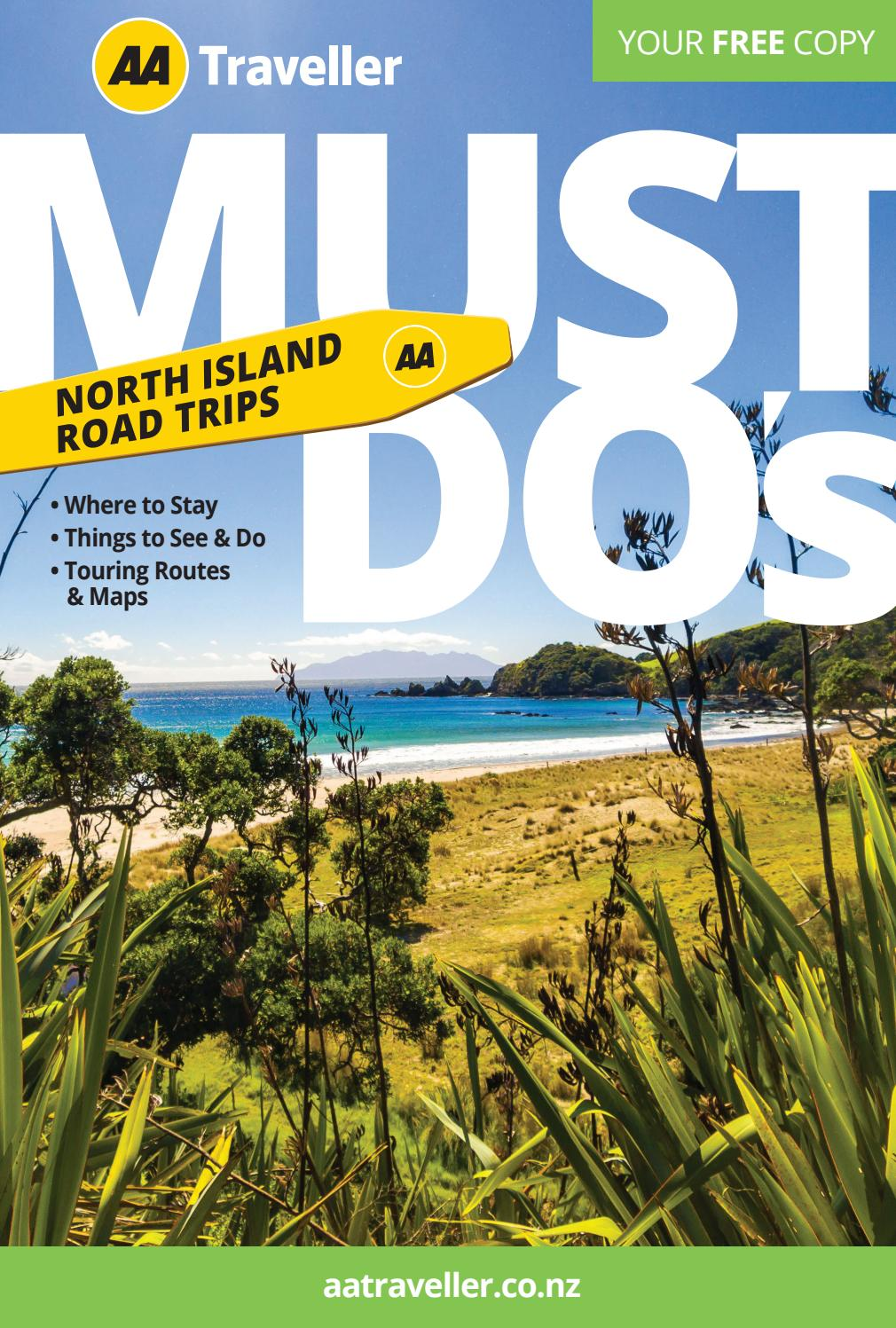 North Island Must Do S 2020 21 By Aa Traveller Issuu