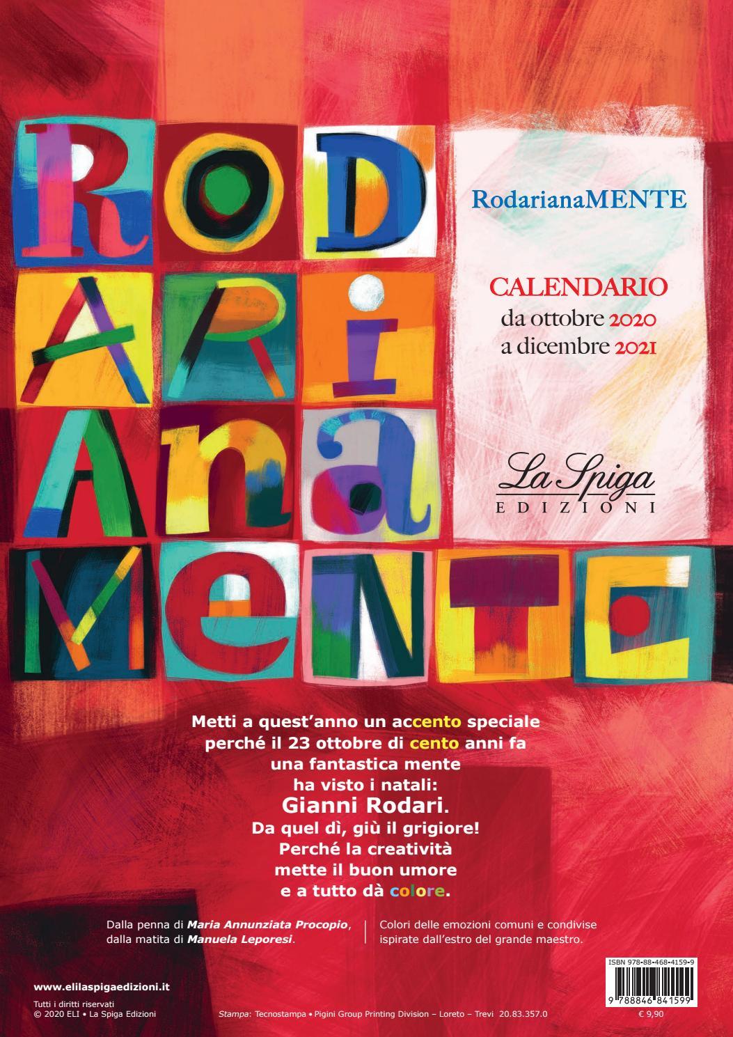 Calendario RodarianaMENTE 2020 2021 by ELI Publishing   issuu