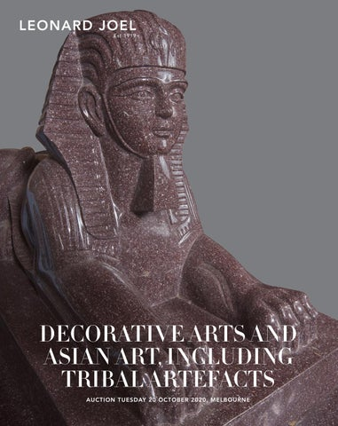Decorative Arts And Asian Art Including Tribal Artefacts By Leonard Joel Issuu