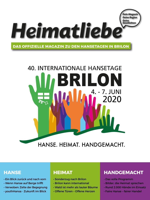 Heimatliebe Sonderausgabe Hansetage Brilon 2020 By Standpunkt Verlag Gmbh Issuu