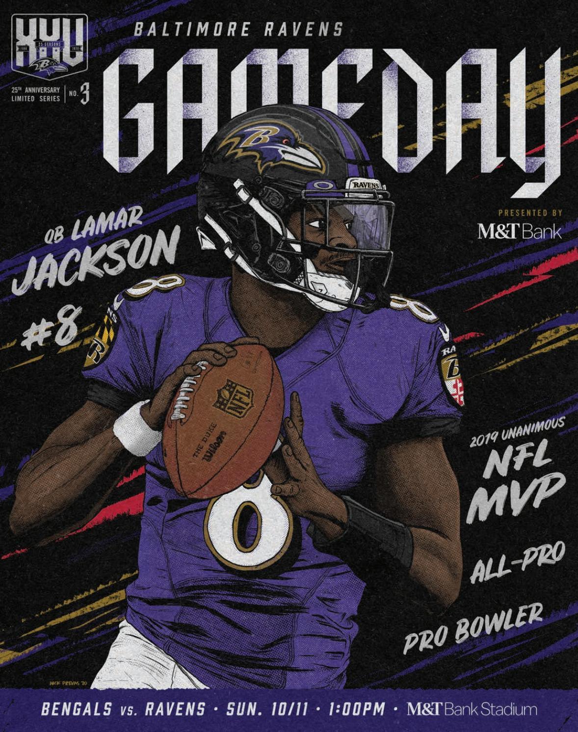 Gameday 10/11: Cincinnati Bengals vs. Baltimore Ravens by ...