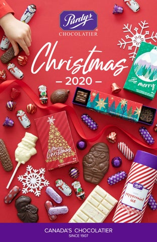 Purdys Chocolatier 2020 Christmas Catalogue by Purdys Chocolatier