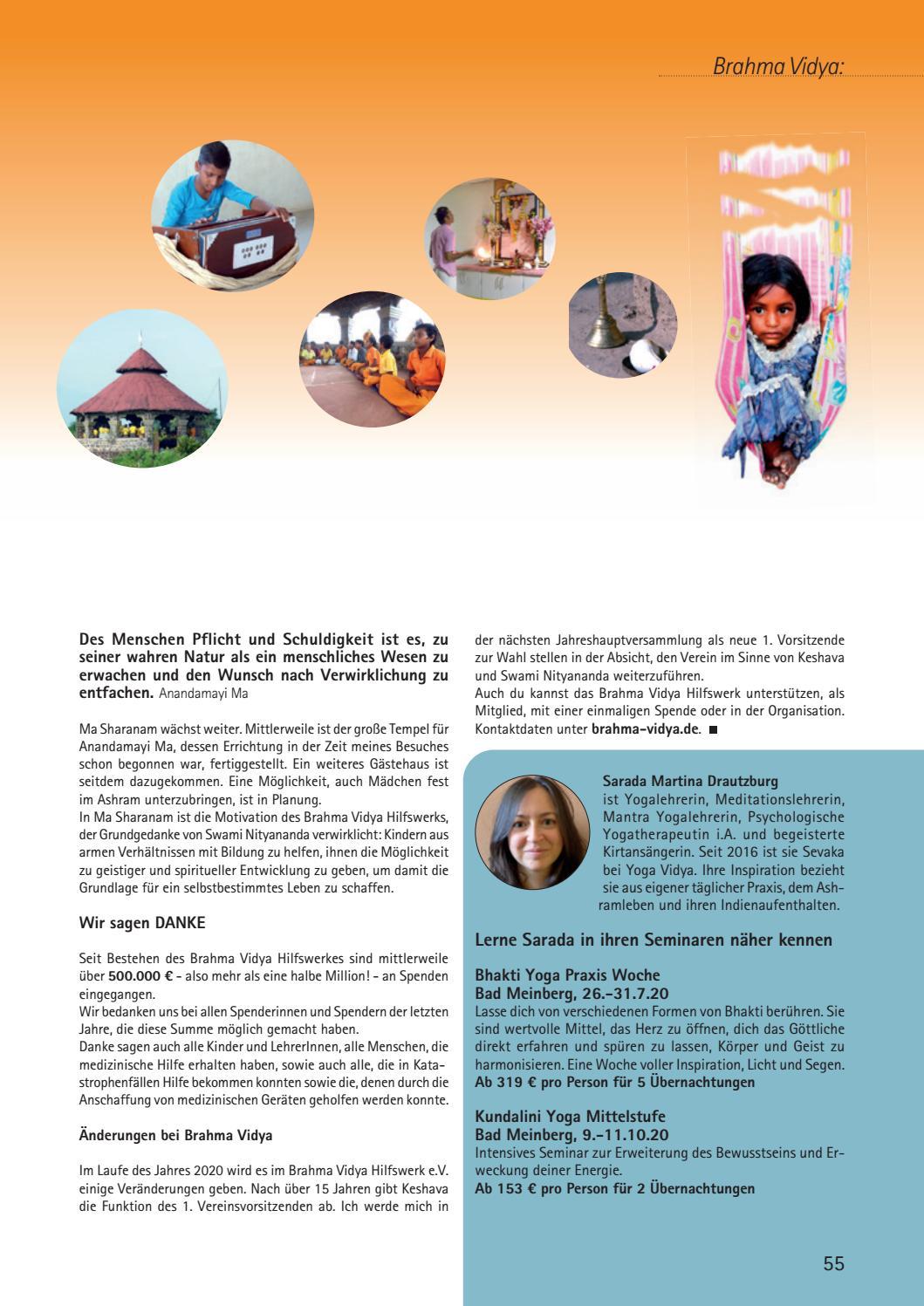 Yoga Vidya Journal Nr 40 2020 Vebuka Com
