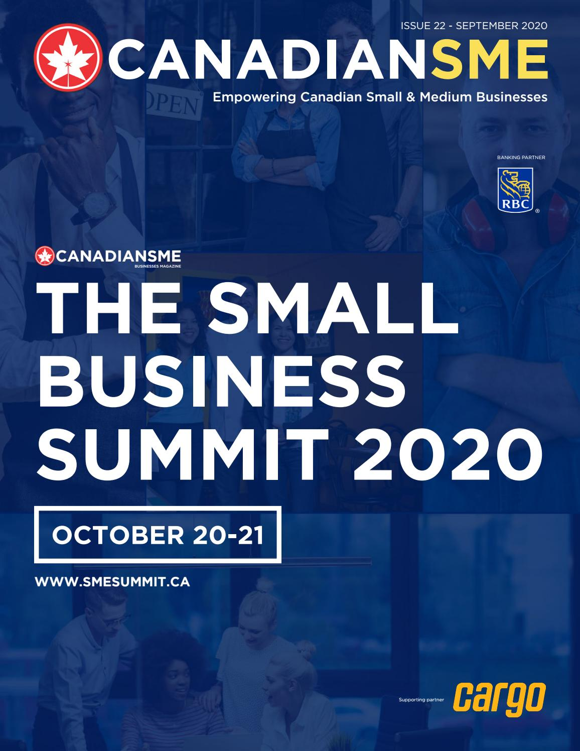Canadiansme Small Business Magazine September 2020 By Canadiansme Issuu