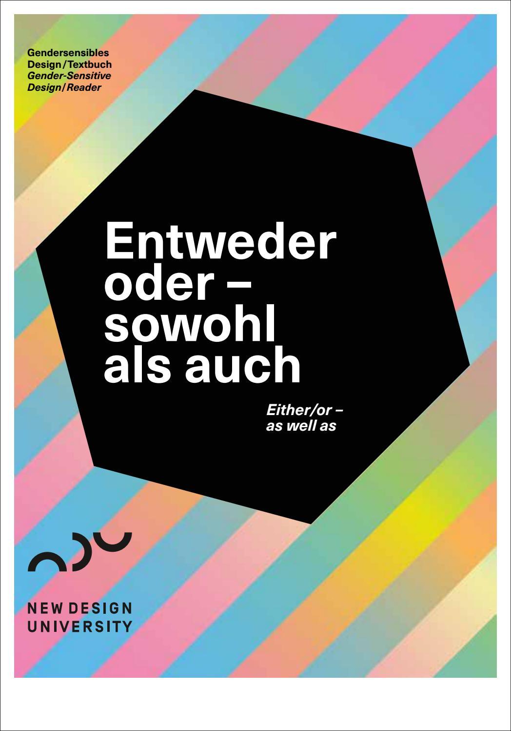 Entweder oder – sowohl als auch. Gendersensibles Design. by New ...