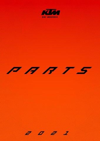 KTM Parts Catalogue 2021. Κατάλογος με ανταλλακτικά & αξεσουάρ