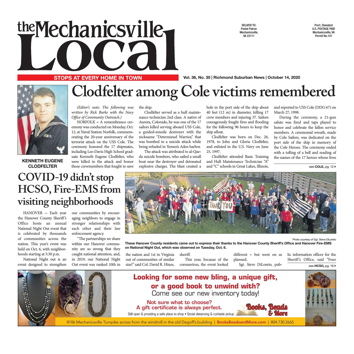 The Mechanicsville Local 10 14 2020 By The Mechanicsville Local Issuu