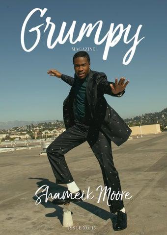 GRUMPY MAGAZINE #15 - Shameik Moore