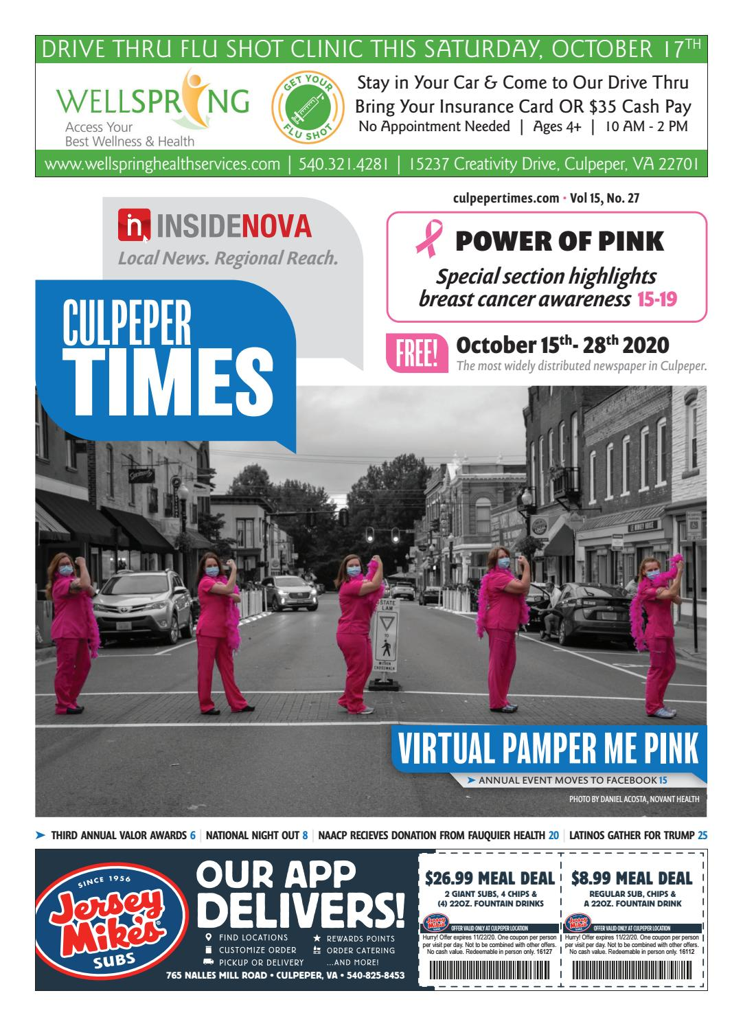 Culpeper Times October 15 2020 By Insidenova Issuu The comme des garçons design visionary breaks her silence to sound off on the continual chaos of fashion. issuu