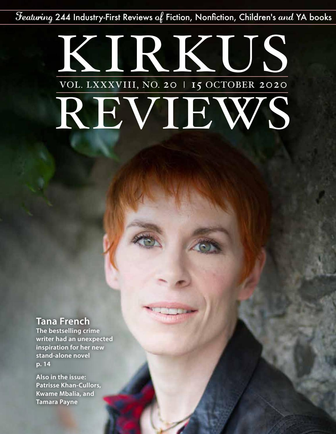 October 15, 2020: Volume LXXXVIII, No 20 By Kirkus Reviews - Issuu
