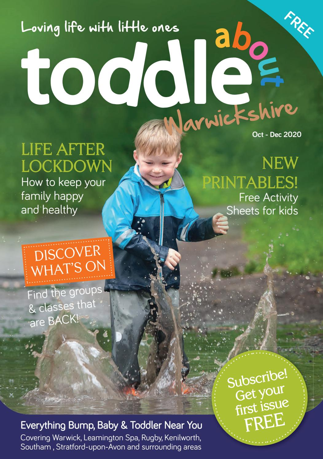 Toddle About Warwickshire Autumn Christmas Oct Dec 2020 By Toddle About Magazine Issuu