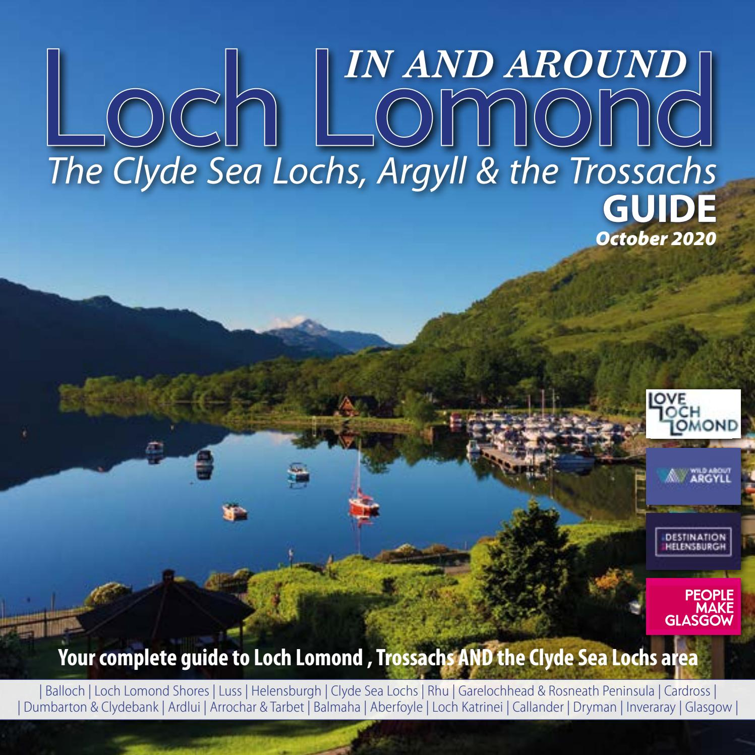 In Around Loch Lomond Guide Oct Nov 2020 By Downtown Publishing Issuu