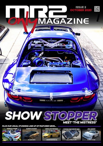 Mr2 Only Magazine Issue 2 By Mr2onlymag Issuu