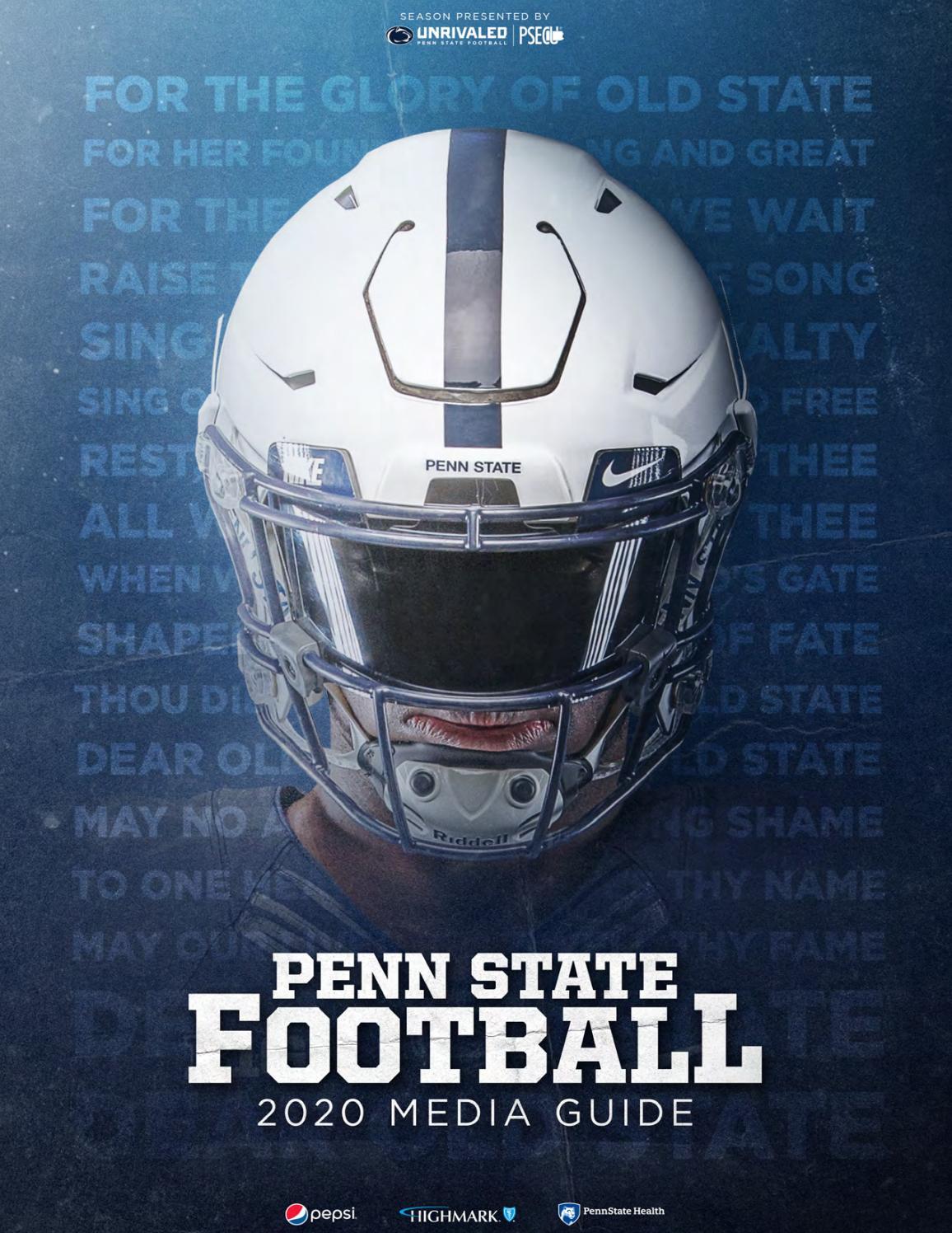 2020 Penn State Football Media Guide by Penn State Athletics - issuu
