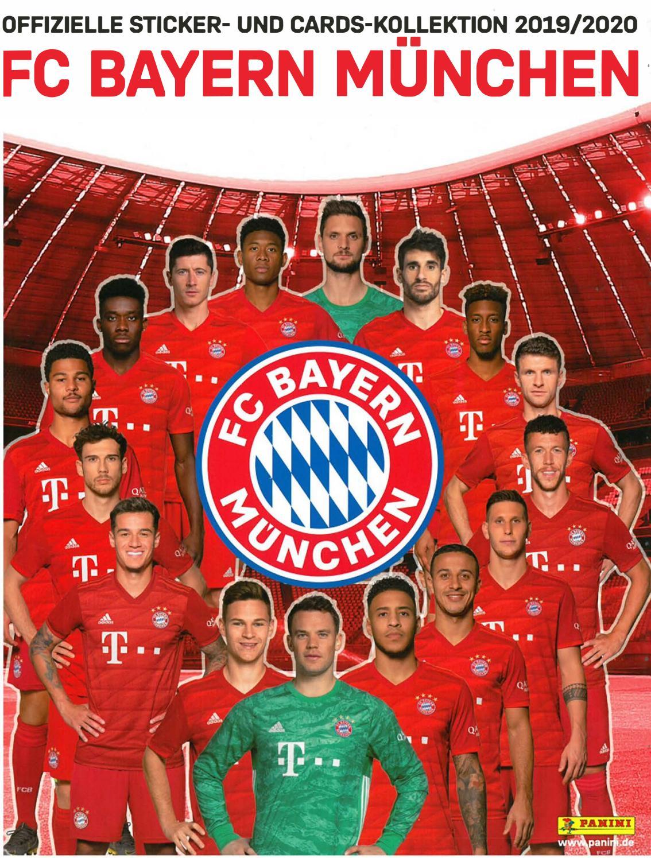 Panini FC Bayern München 2019//20 Sticker 76 Thiago