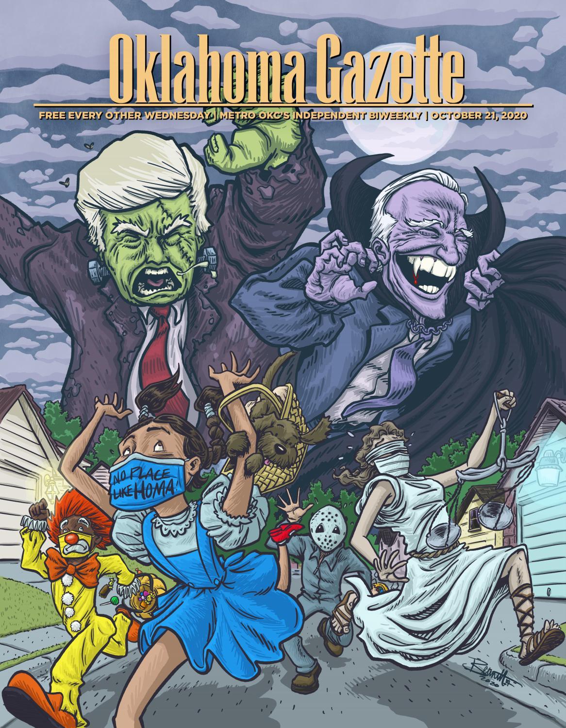 2020 Ghouls & Goals-Premier & Gold Level Halloween OKG's Annual Halloween Issue by Oklahoma Gazette   issuu