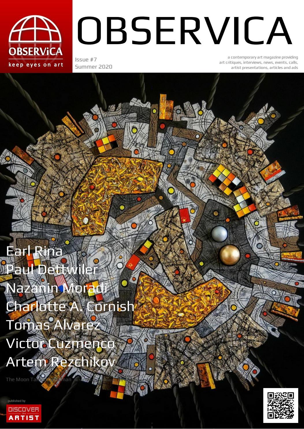 Observica Magazine Summer 2020 Discover The Artist Media By Biafarinart Issuu