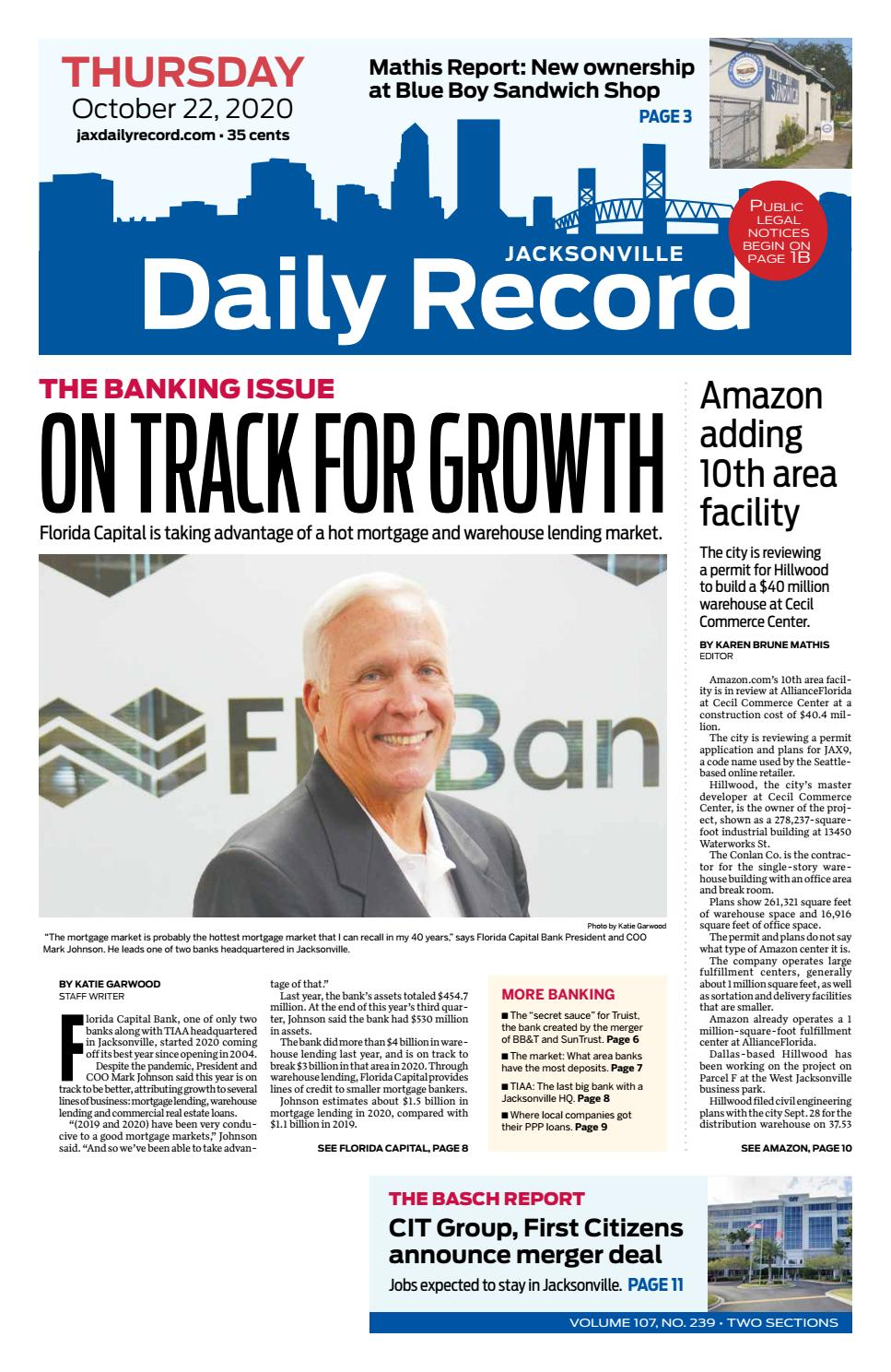 Jacksonville Daily Record 10 22 20 By Daily Record Observer Llc Issuu