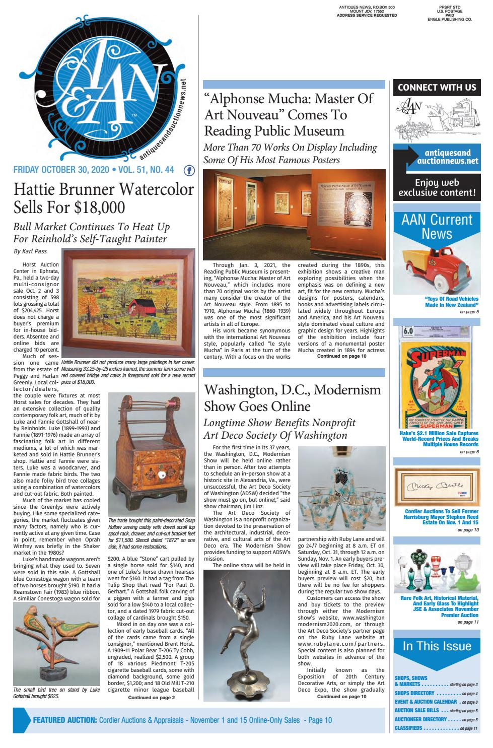 Antiques Auction News 103020 By Antiques Auction News Issuu