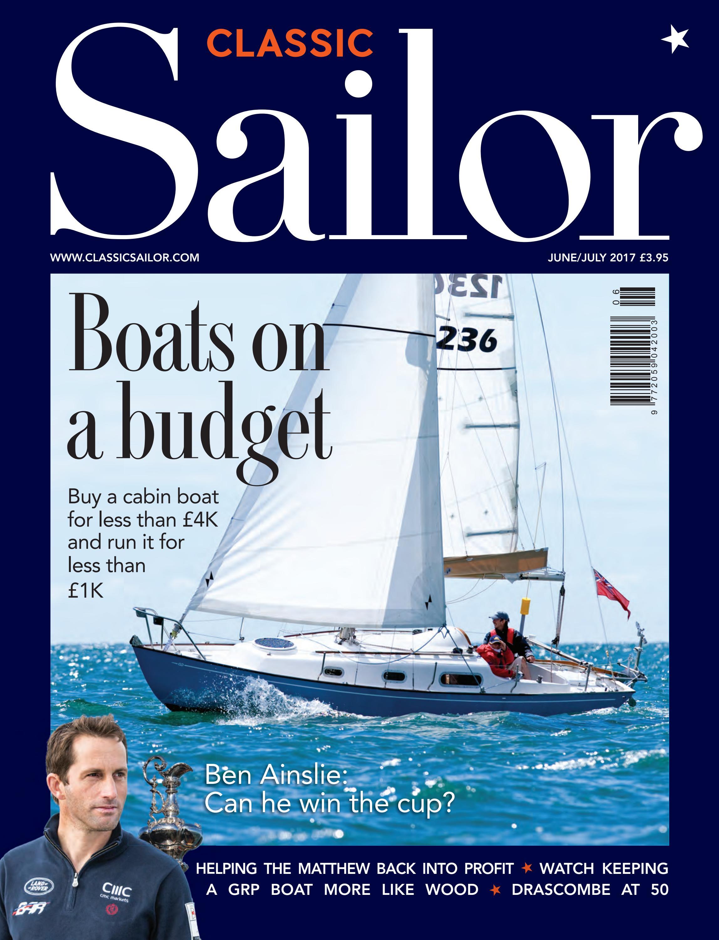 Classic Sailor No16 June July 2017 By Dan Houston Issuu