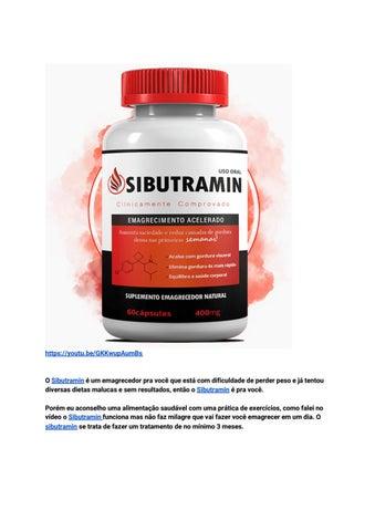 sibutramin precisa de receita