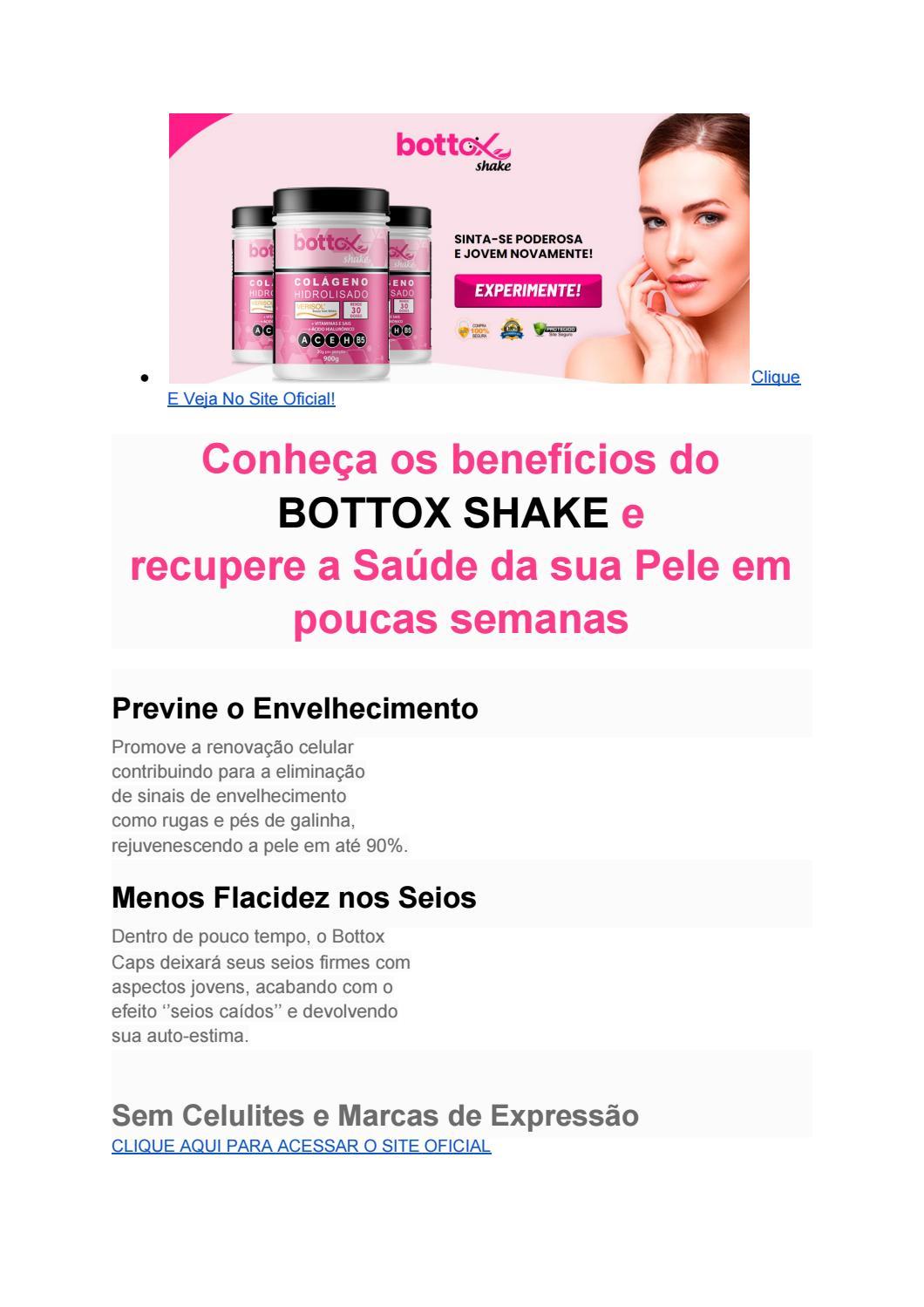 bottox shake funciona