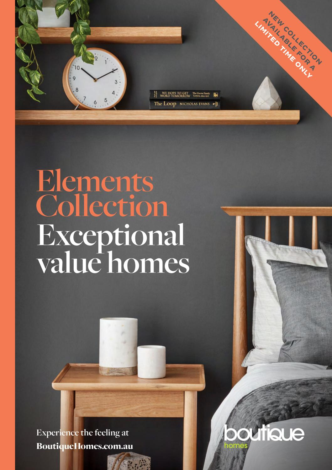 elements collection by boutique homes issuu elements collection by boutique homes