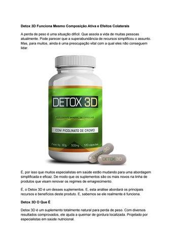 detox 3d bula