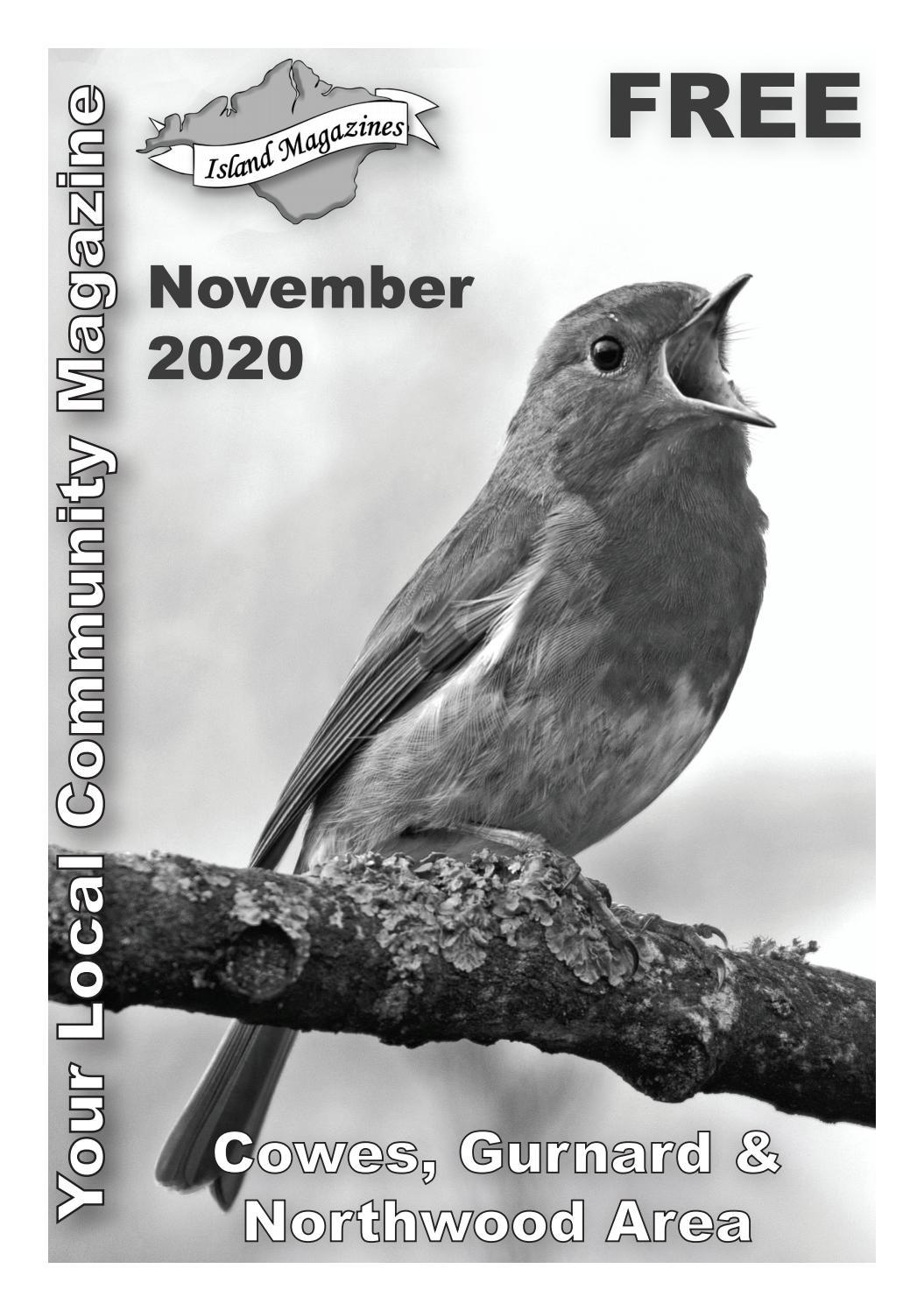 Island Magazines November 2020 Cowes Gurnard Northwood Area By Island Magazines Issuu