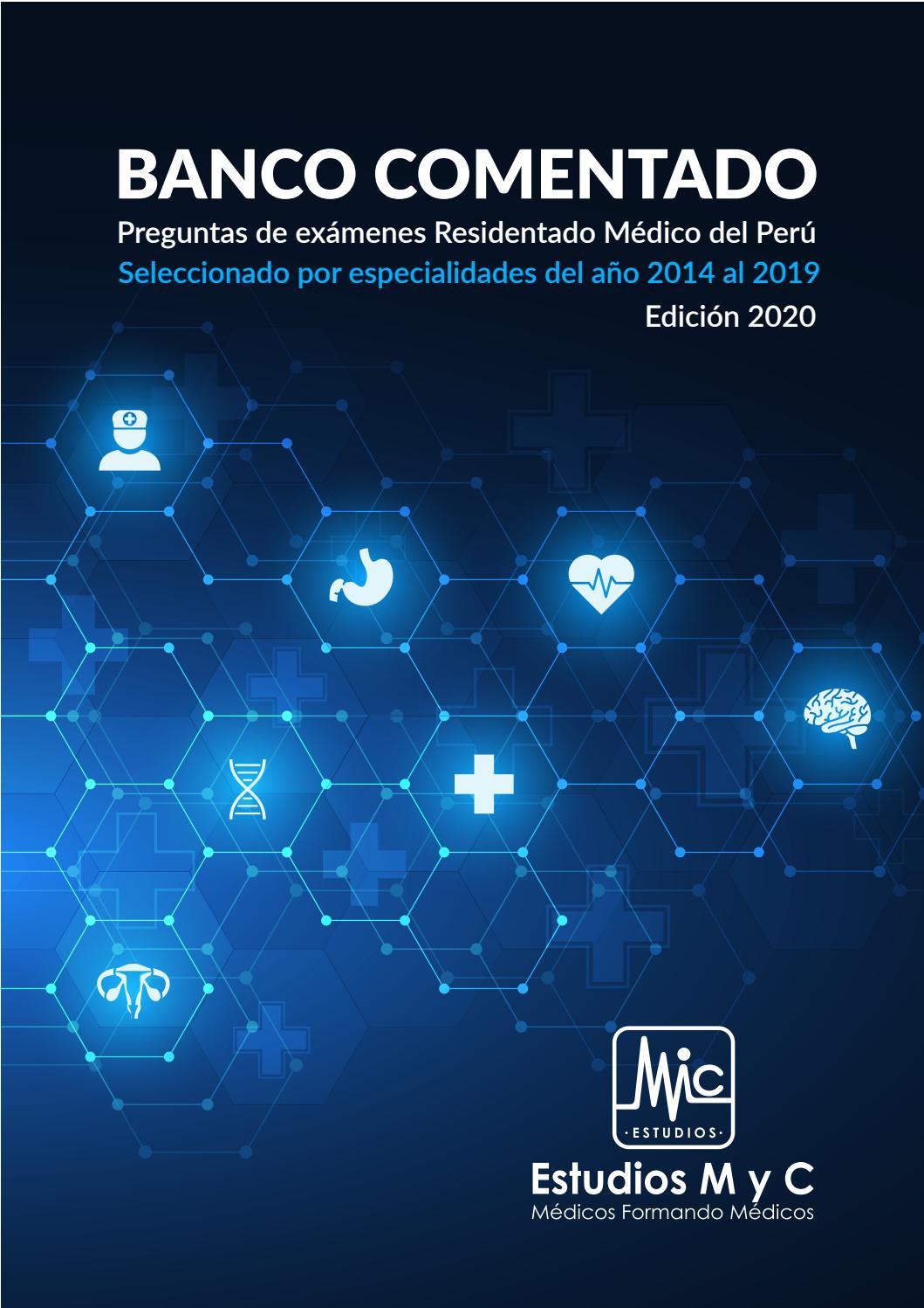 Banco De Preguntas Residentado Medico Del Peru By Estudios M Y C Issuu