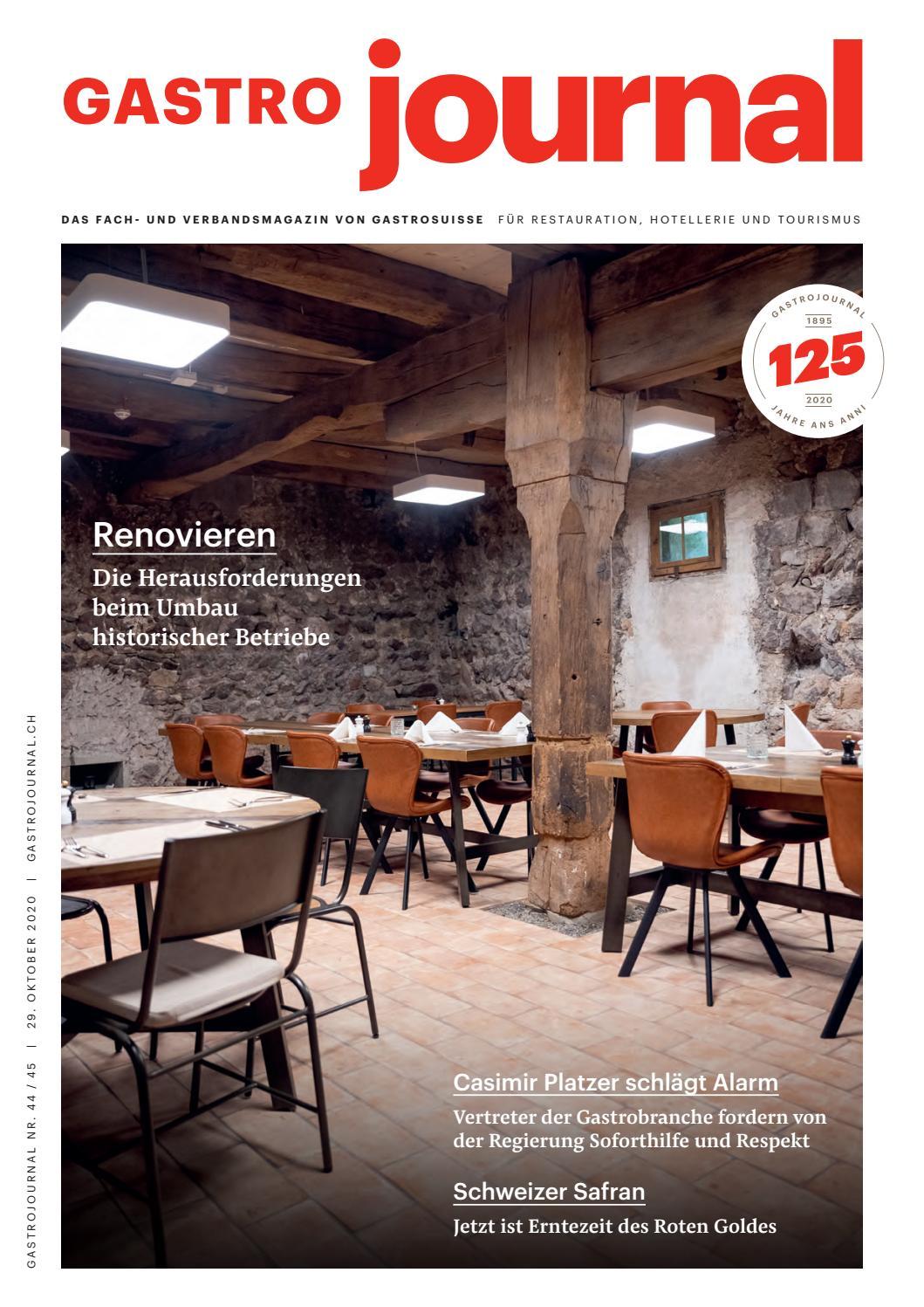 Gastrojournal 44 45 2020 By Gastrojournal Issuu