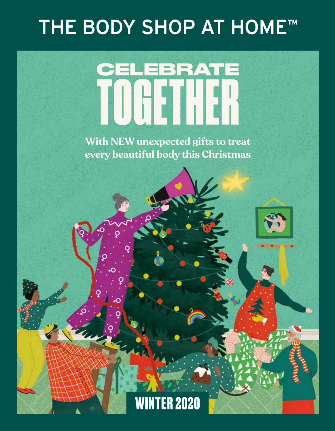 Christmas 2020 Catalogue The Body Shop At Home™ UK Winter 2020 Catalogue by The Body Shop