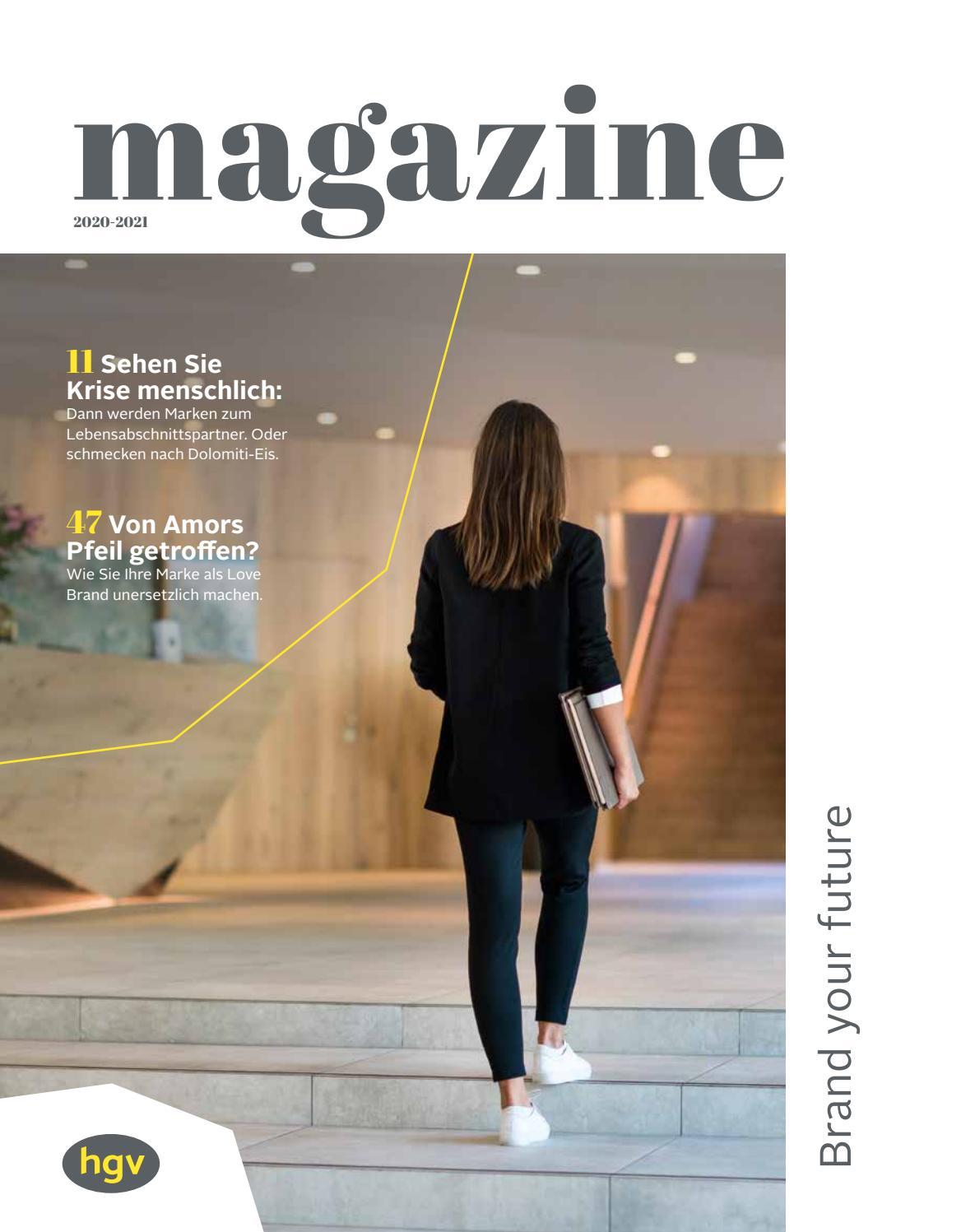 magazine 10/10 des Hoteliers  und Gastwirteverbandes HGV mit ...