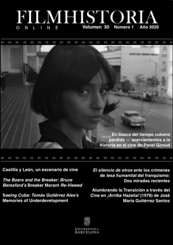 Filmhistoria Online Volumen 30 Núm 1 Julio 2020 By Filmhistoria Online Issuu