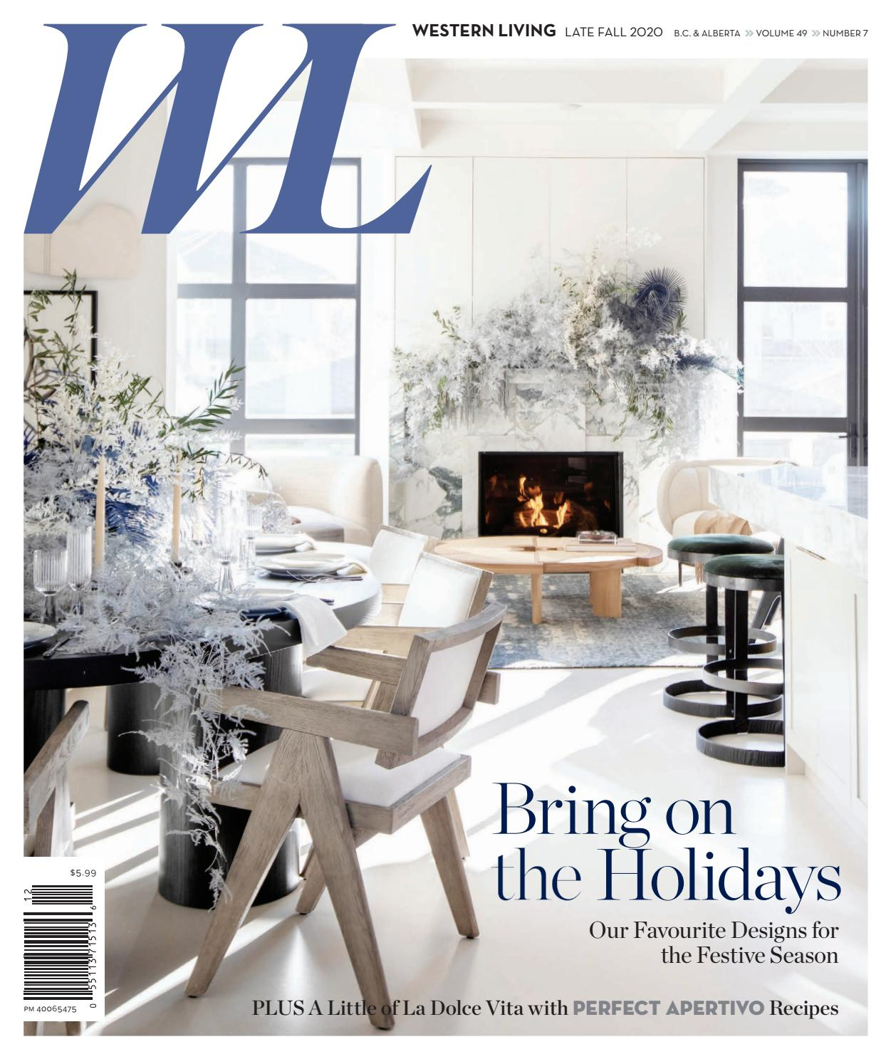 Western Living BC, Late Fall 2020 by Canada Wide Media - issuu